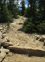 Notch Mountain Trail – Mirror Lake, Utah