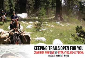 WE DID IT! Keeping Trails Open for You Fundraiser