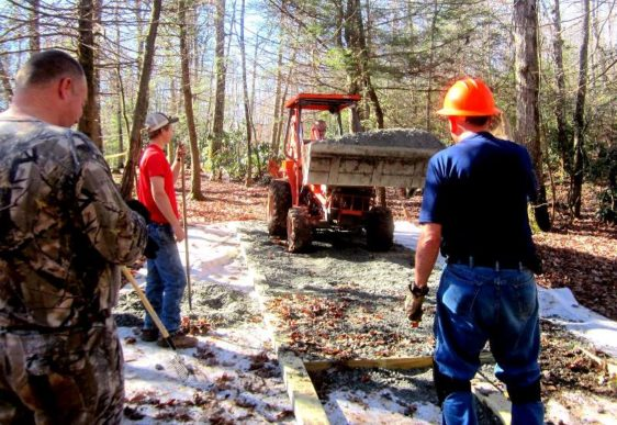 Pisgah BCH of NC – Building Sustainable Highline Systems