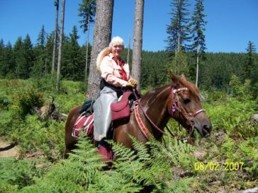 Peg Greiwe: A Back Country Horsemen of America Horsewoman
