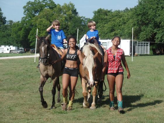 Buffalo River BCH of Arkansas Put On Kids' Weekend at Woolum Park