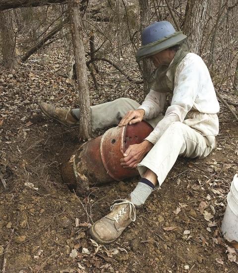 BCH of Kansas Saves Honeybee Hive