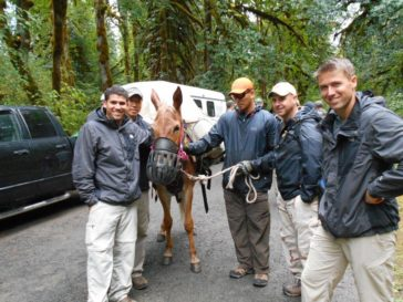 Back Country Horsemen of America Trains US Soldiers in Horse Handling