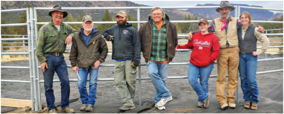 BLM Gives Thanks to Steens BCH of Oregon Volunteers