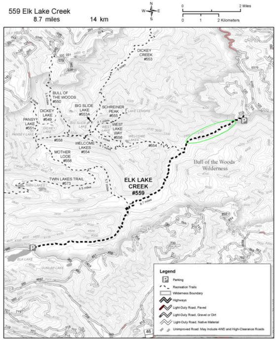 Territorial Riders BCHO Elk Lake Creek Trail Restoration RTP Grant Project
